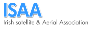 ISAA-Irish Satelite and Aerial Association logo